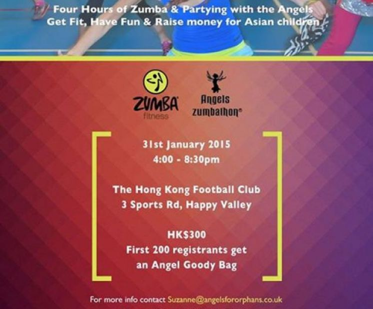 Angels Zumbathon - 31st January 2015