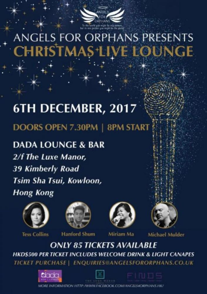 Angels for Orphans Christmas Live Lounge
