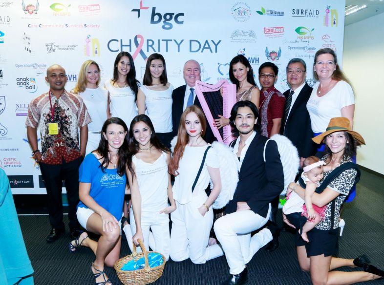Angels at BGC Charity Day in Hong Kong