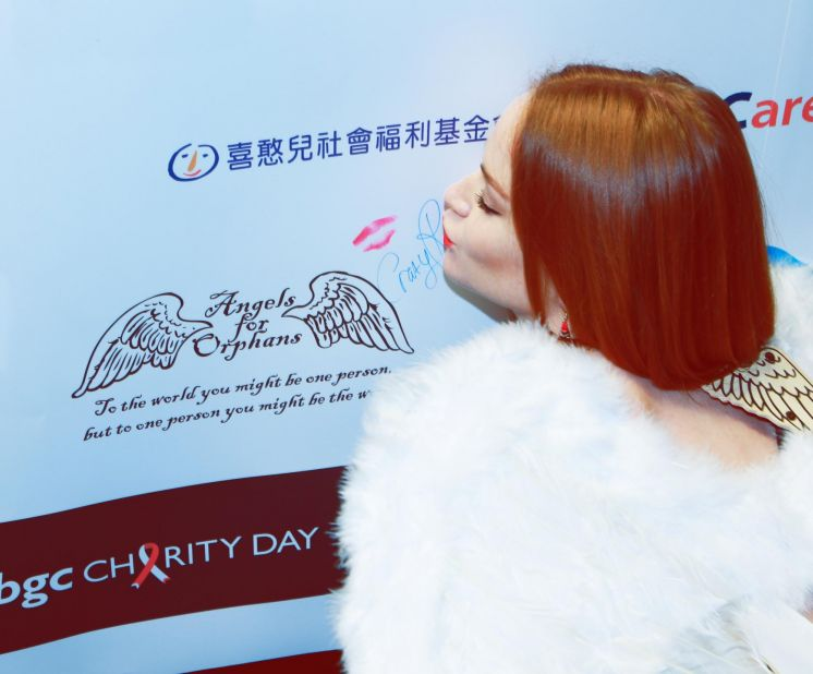 Angels at BGC Charity Day in Hong Kong