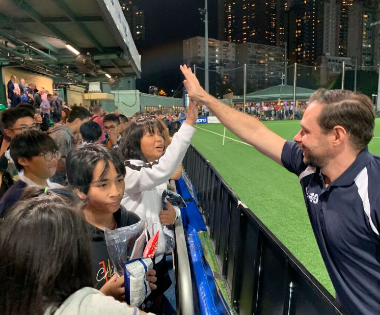 Front Row Seats at GFI HK 10's Rugby