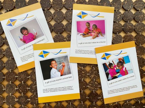 Bali Kids Gift Giving Cards