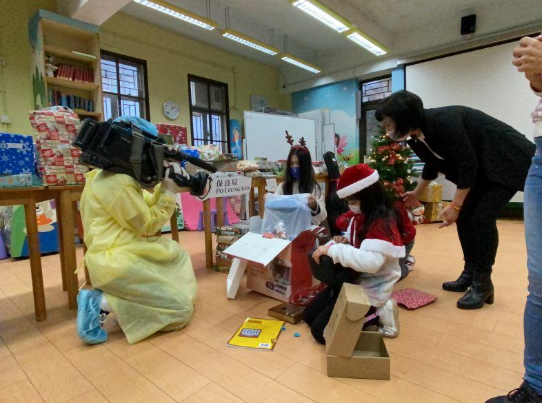 A TV Spotlight on Angels Secret Santa
