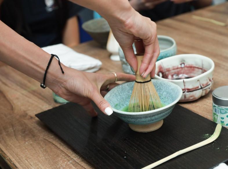 Making Matcha Tea with HyggeWellbeing